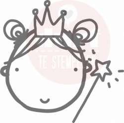 prinsessengezicht stempel