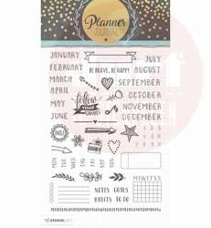 planner journal 02 clearstempels