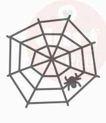 Spinnenweb stempel