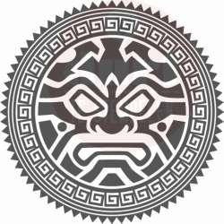 maori tribal stempel