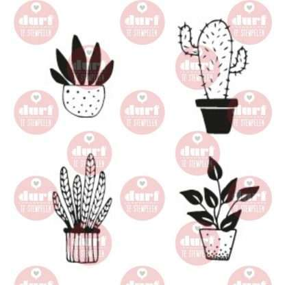 planten stempelset