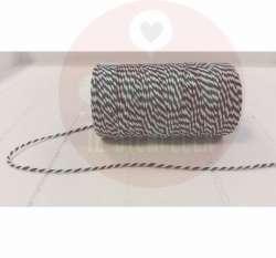 zwart-wit touw