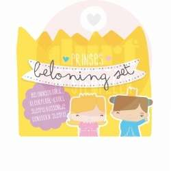 prinses beloning stempelkaart set