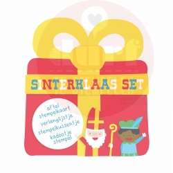 Sinterklaas aftel stempelkaart set
