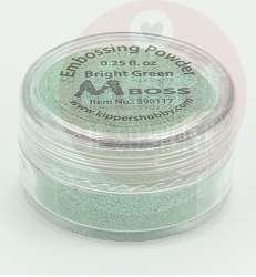 mboss embossingpoeder bright green