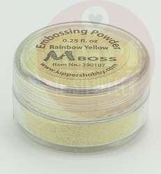 mboss embossingpoeder rainbow yellow