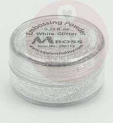 mboss embossingpoeder white glitter