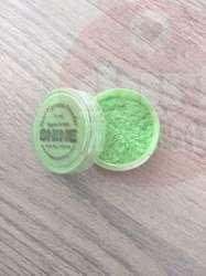 shine embossingpoeder appel groen