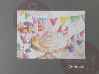 Verjaardagsfeest de neusjes