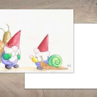 De Neusjes en de slakken kaart
