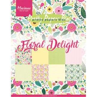 Floral desgin paper pad