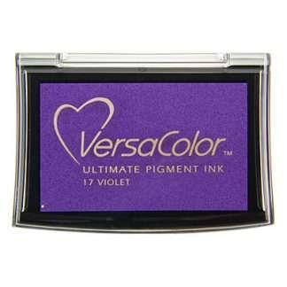 versacolor stempelkussen violet