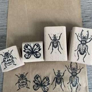 Handgetekende insecten van Gee Adriaansz
