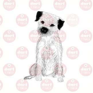 borderterrier stempel