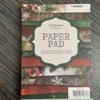 Kerst paperpad