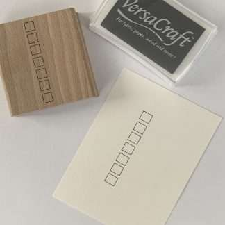Checkbox stempel