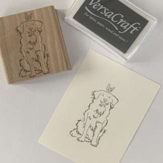 duck tolling retriever stempel