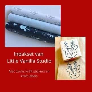 Inpakset van Little Vanilla Studio