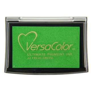 versacolor stempelkussen - fresh green