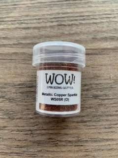 wow embossingpoeder metallic copper sparkle